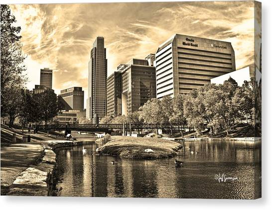 Downtown Omaha Nebraska Photograph By Jeff Swanson