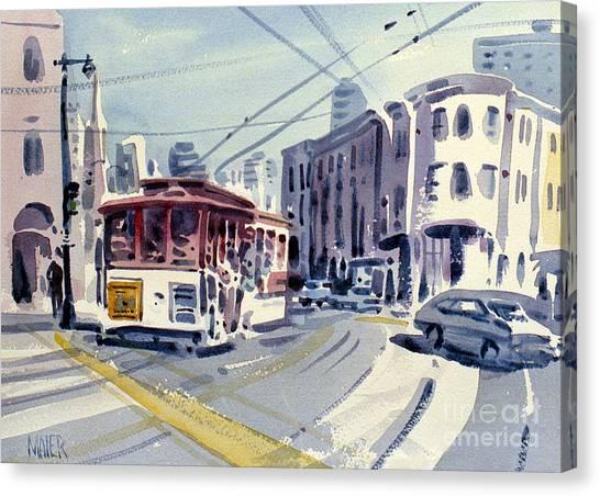 Downtown San Francisco Canvas Print