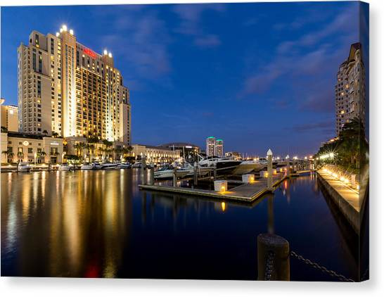 Downtown Tampa Canvas Print
