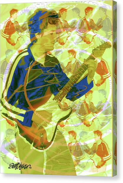 Dr. Guitar Canvas Print