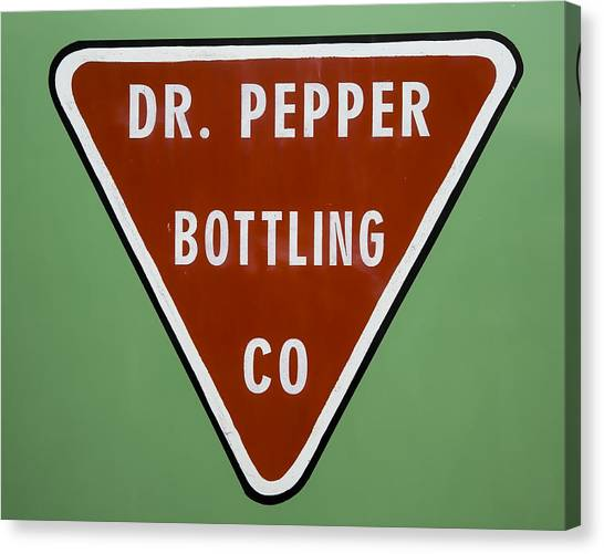Dr. Pepper Canvas Print - Dr Pepper Bottling by Stephen Stookey