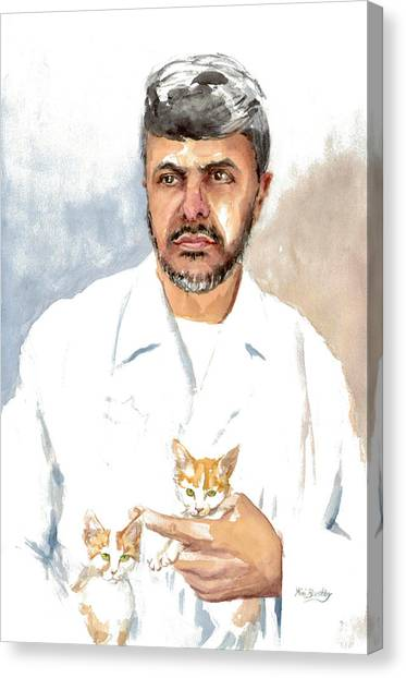 Dr Yoossef Canvas Print