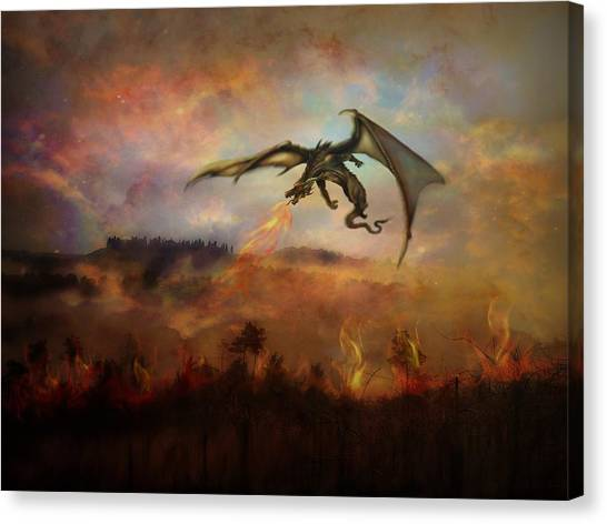 Dracarys Canvas Print