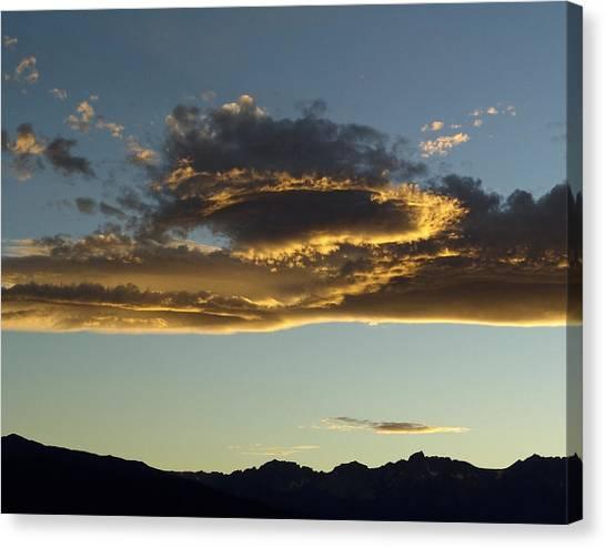 Dragon Cloud Canvas Print by Alpha Pup