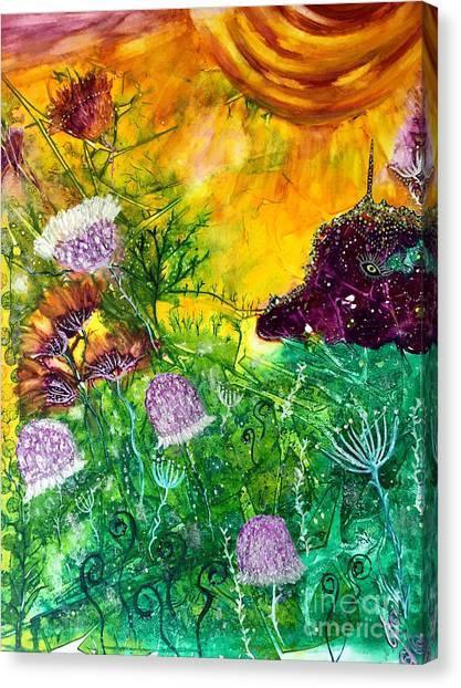 Dragon Daze Canvas Print