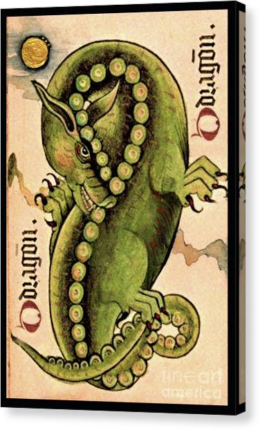Dragon Dragon Canvas Print