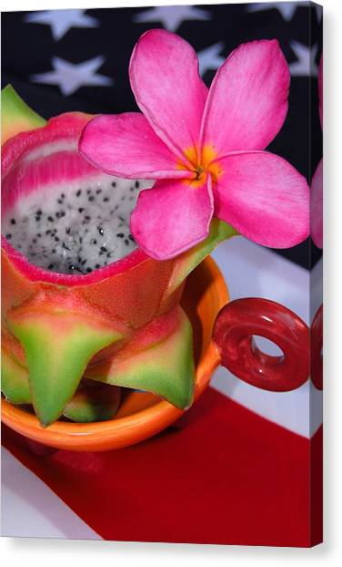 Dragon Fruit Canvas Print