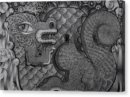 Dragon King Canvas Print