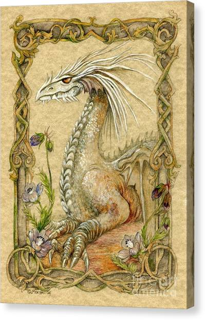 Fantasy Canvas Print - Dragon by Morgan Fitzsimons