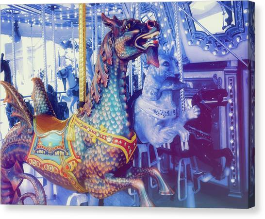 Dragon Rider Canvas Print by JAMART Photography