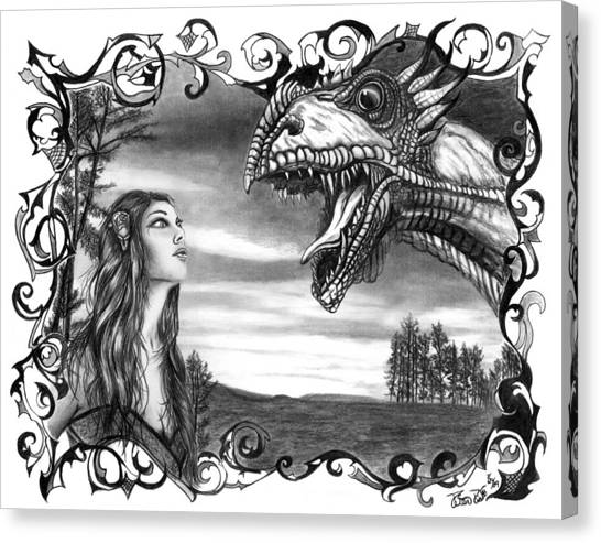 Dragon Whisperer  Canvas Print