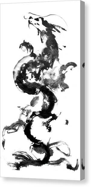 Dragon2012 Canvas Print