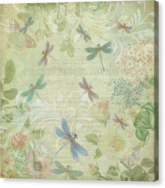 Dragonfly Dream Canvas Print