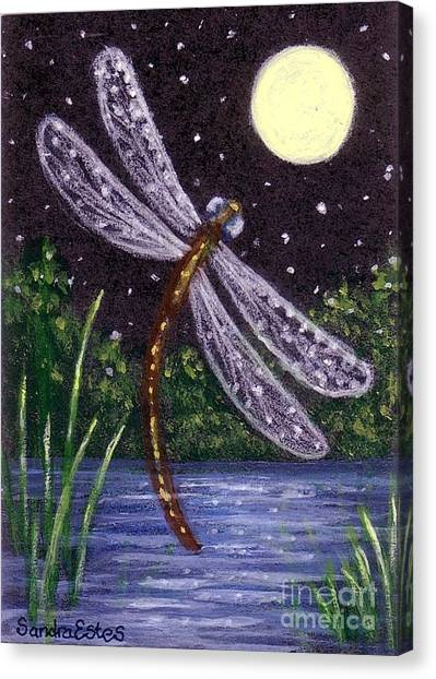 Dragonfly Dreaming Canvas Print