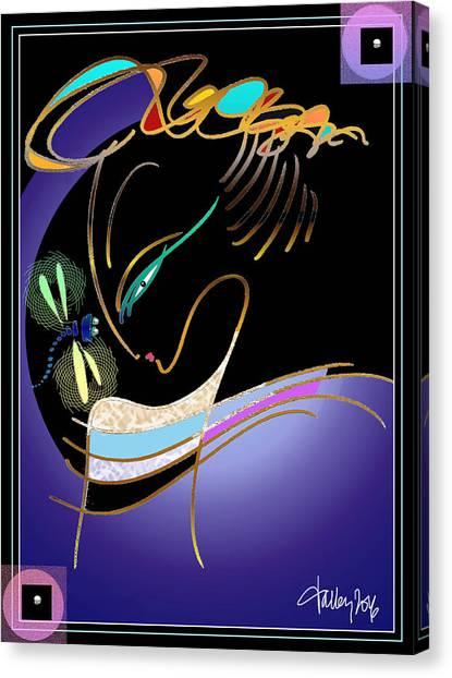 Dragonfly Messenger Canvas Print