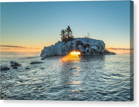 Dragon's Breath  // North Shore, Lake Superior Canvas Print