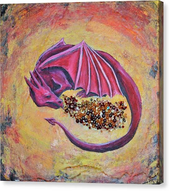 Dragon's Treasure Canvas Print