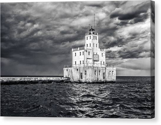 Drama In The Clouds Canvas Print