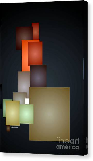 Dramatic Abstract Canvas Print