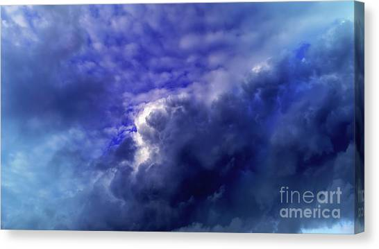 Dramatic Cumulus Sky Canvas Print