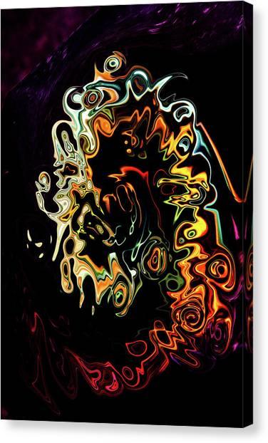Dramatic Canvas Print