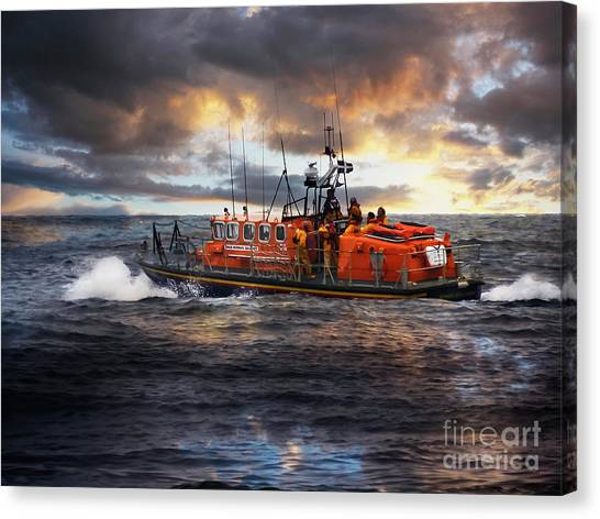 Dramatic Once More Unto The Breach  Canvas Print