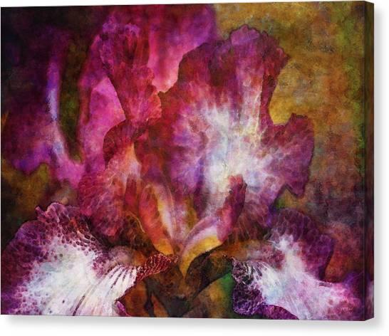 Dramatic White And Purple 0273 Idp_2 Canvas Print
