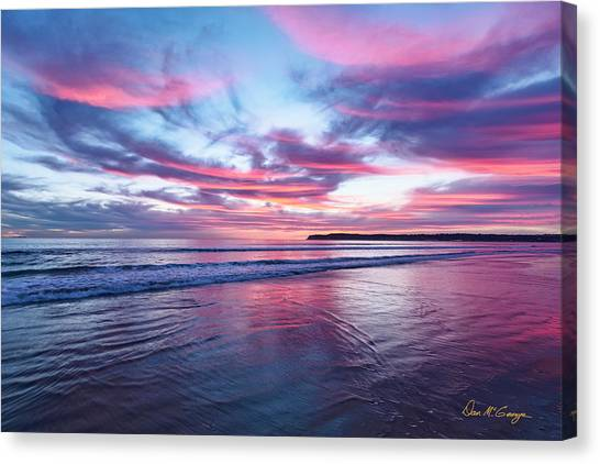 Canvas Print featuring the photograph Drapery by Dan McGeorge