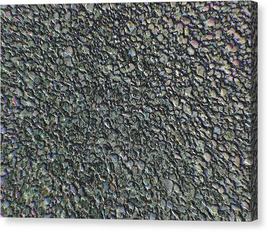 Drawn Pebbles Canvas Print