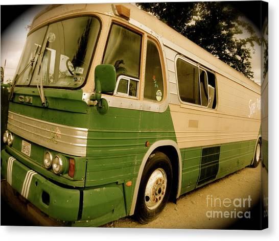 Dream Bus Canvas Print by Chuck Taylor