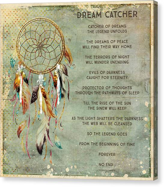 Dream Catcher Canvas Print