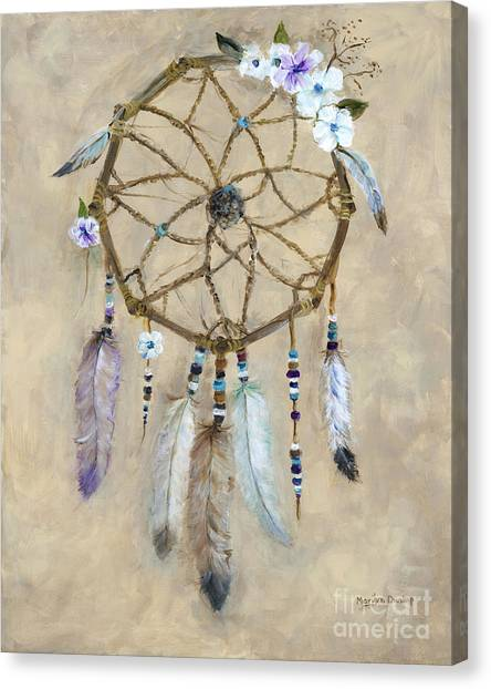 Catchers Canvas Print - Dream Catcher by Marilyn Dunlap