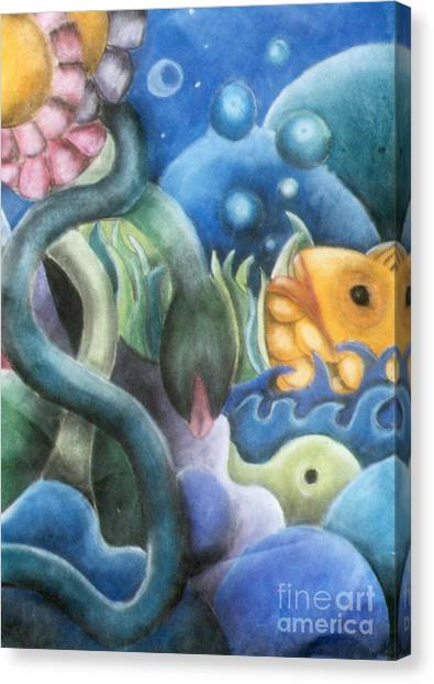 Dream Fish Canvas Print
