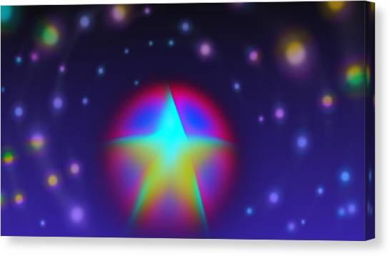 Dream Like A Super Star Canvas Print