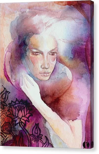 Dream Lotus Canvas Print