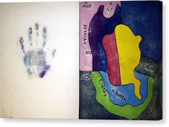 Occur Canvas Print - Dream Map by William Douglas