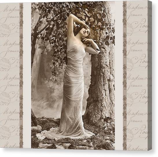 Dream Of The Night Canvas Print