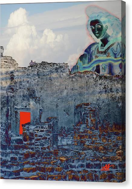 Dream Of Tulum Ruins Canvas Print