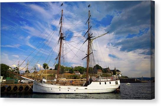 Dream On The Fjord Canvas Print