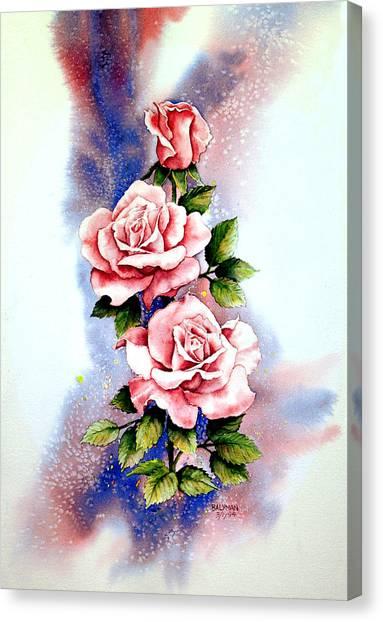 Dream Roses Canvas Print by Brooke Lyman