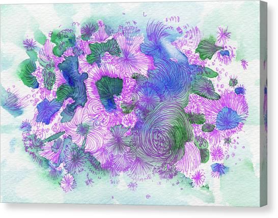 Dream - #ss16dw054 Canvas Print by Satomi Sugimoto
