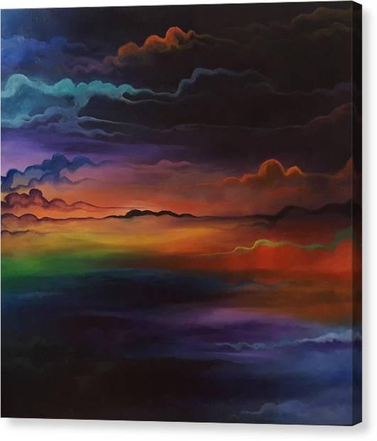 Dream Tiers Canvas Print