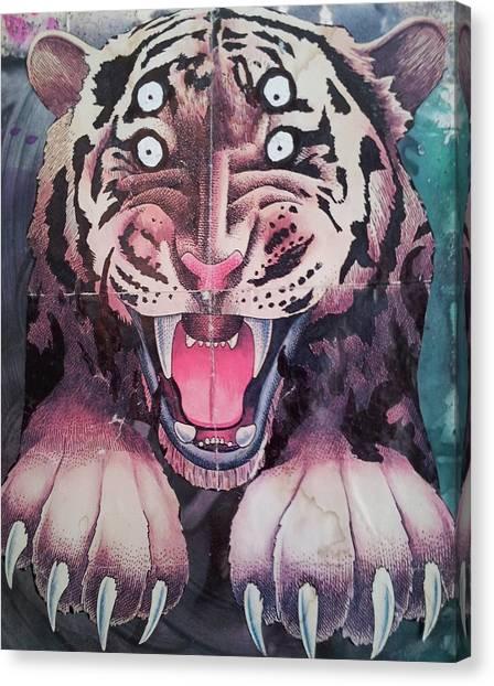 Occur Canvas Print - Dream Tiger by William Douglas