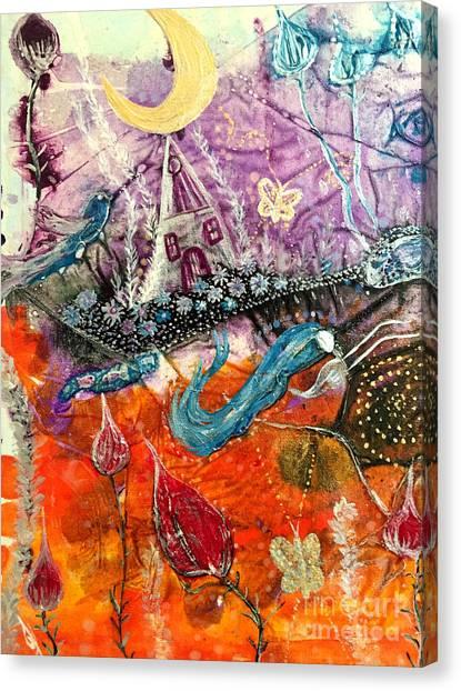 Dream Worlds Canvas Print