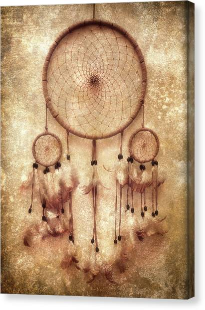 Catchers Canvas Print - Dreamcatcher by Wim Lanclus