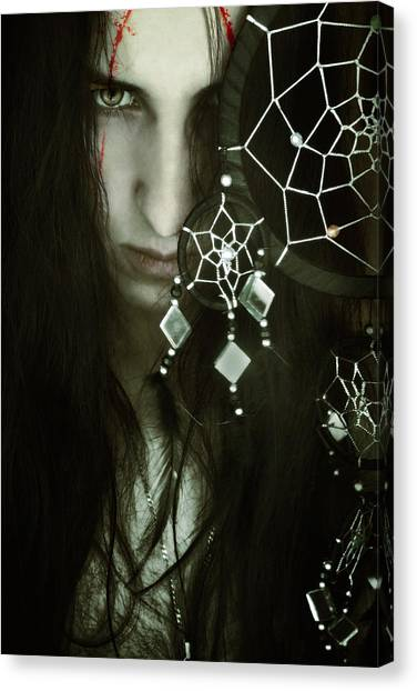 Catchers Canvas Print - Dreamcatcher by Cambion Art