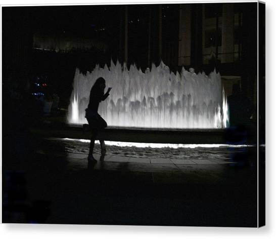 Dreamer At The Met Canvas Print