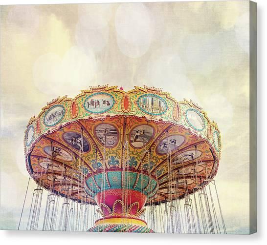 Dreamer - Nostalgic Summer Carnival Canvas Print