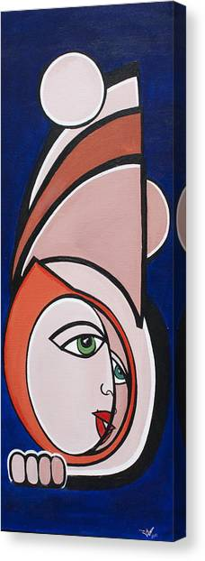 Dreamer Canvas Print by Valerie Wolf