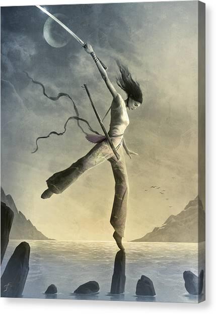 Dreamfall Canvas Print by Jason Engle